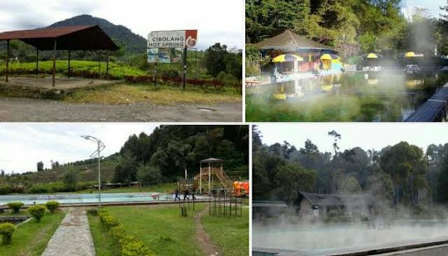 Wisata pemandian air panas cibolang pangalengan atau cibolang hotspring water