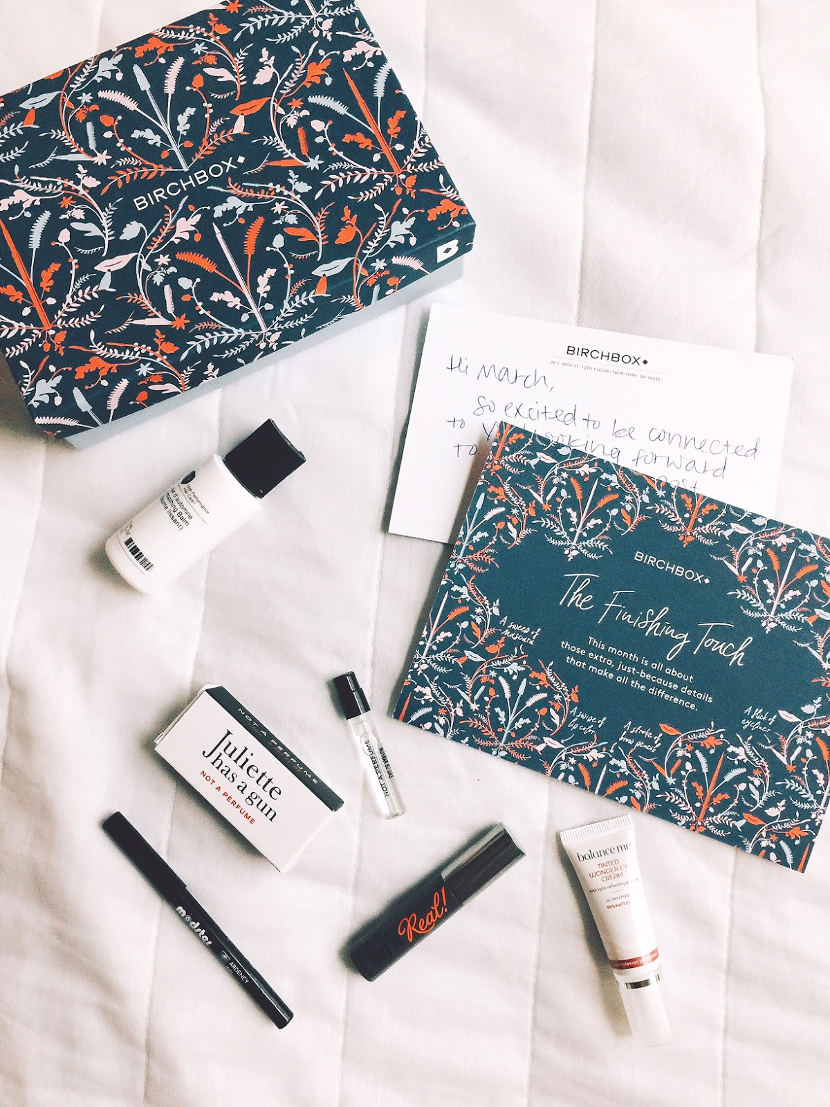 birchbox, beauty subscription, mail, shop style collective, fashion and lifestyle blogger,