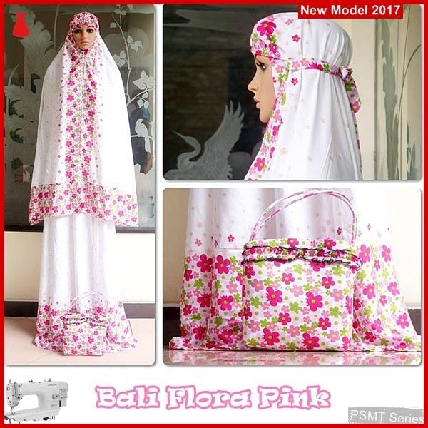 PSMT057A Mukena Bali Flora Pink Untuk Idul Fitri BMG