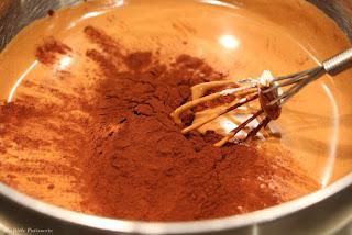 soufflé chocolat poudre cacao