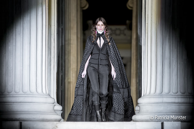 Dafni Kal opens DSQUARED2 Fashion Show in Athens at Zappeion Hall