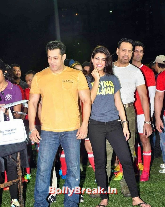 Salman Khan, Jacqueline Fernandez, Bollywood Celebs play football match for Aamir khan's daughter Ira Khan