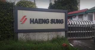 Lowongan Kerja Terbaru MM2100 Marketing PT. Haeng Sung Raya Indonesia Cikarang