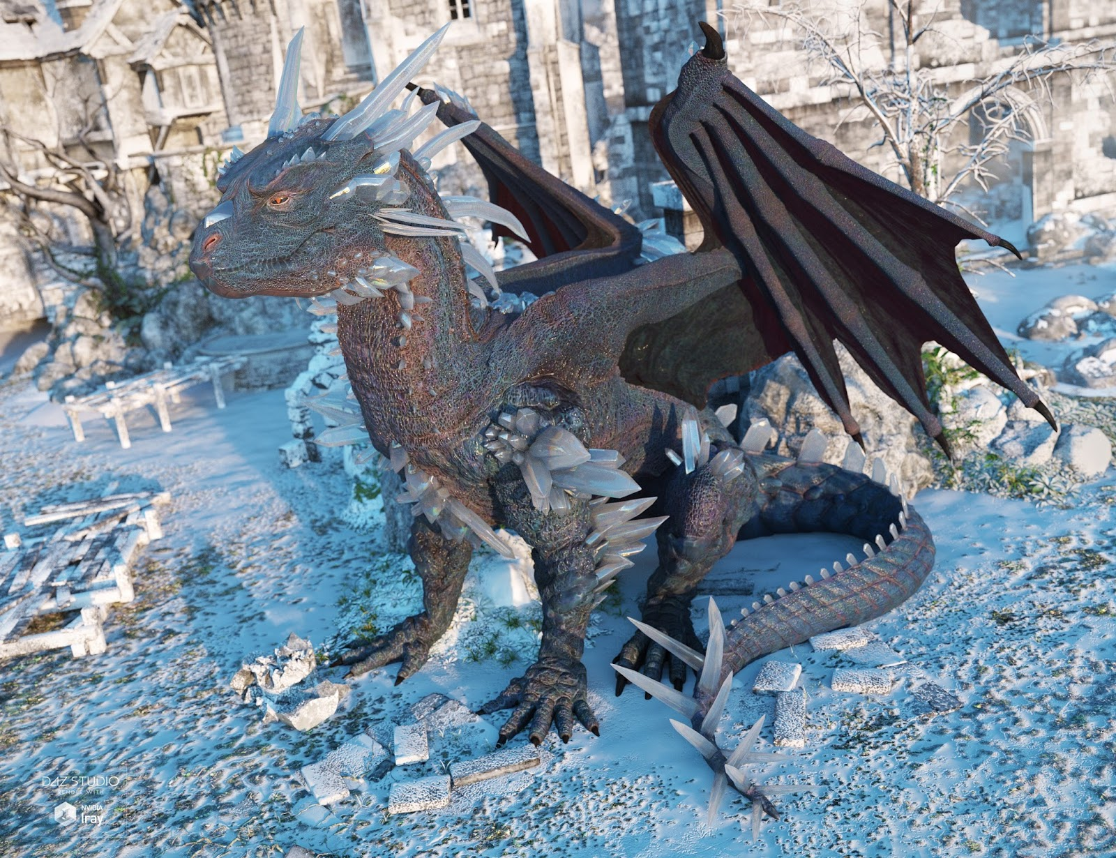 download daz studio 3 for free daz 3d crystal dragon for the