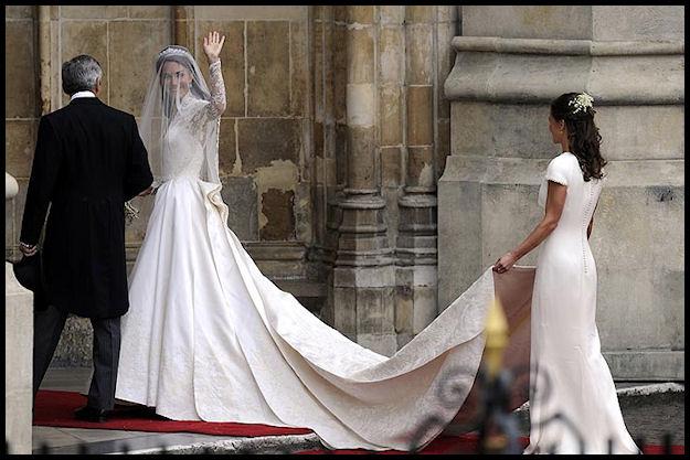 Denise Richards Bond: Princess Kate Middleton Wedding Dress