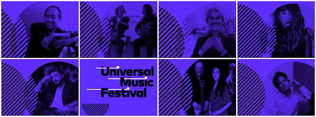 Figuras destacadas de ámbito internacional en el Universal Music Festival.
