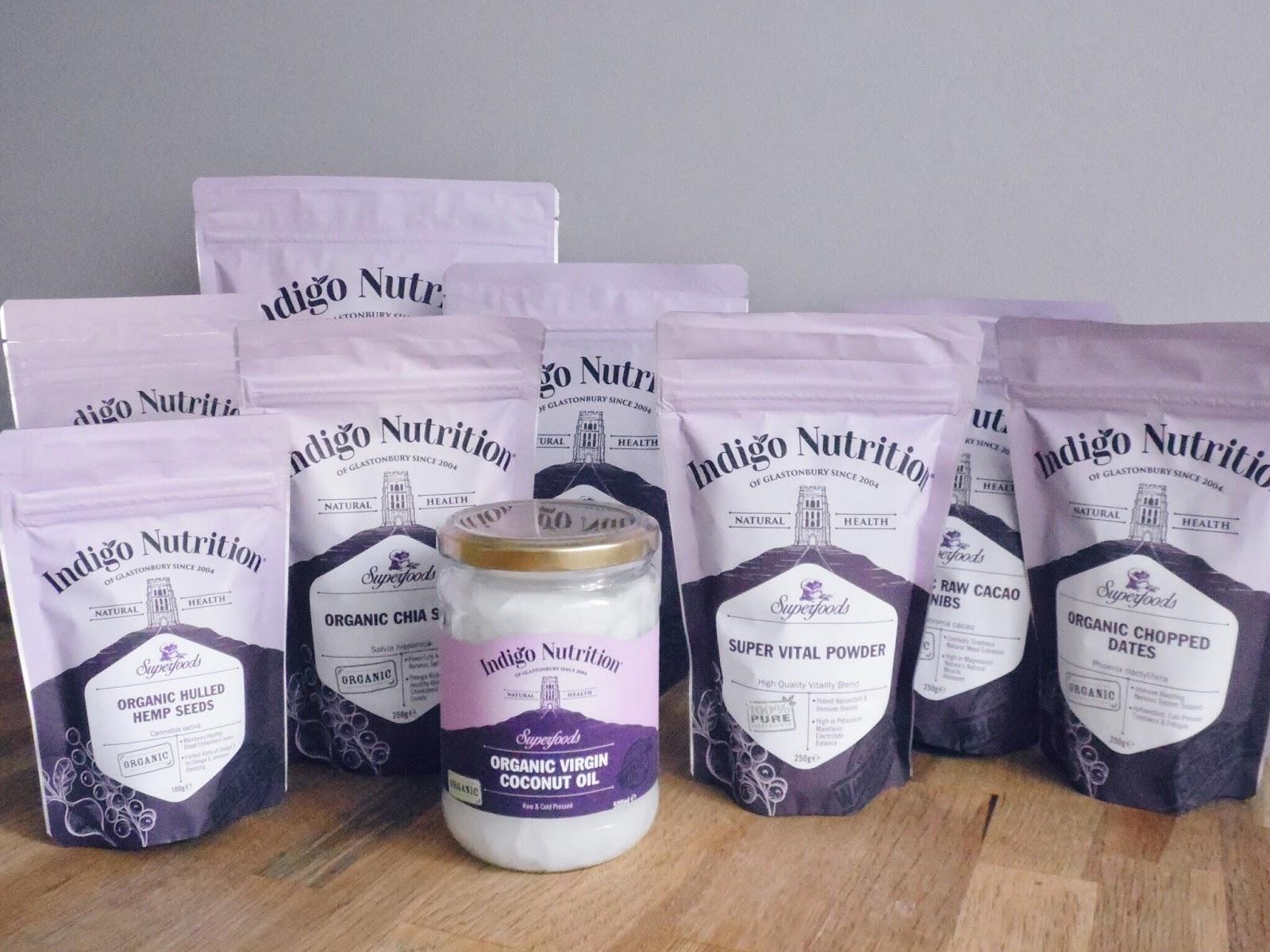 collection of indigo nutrition