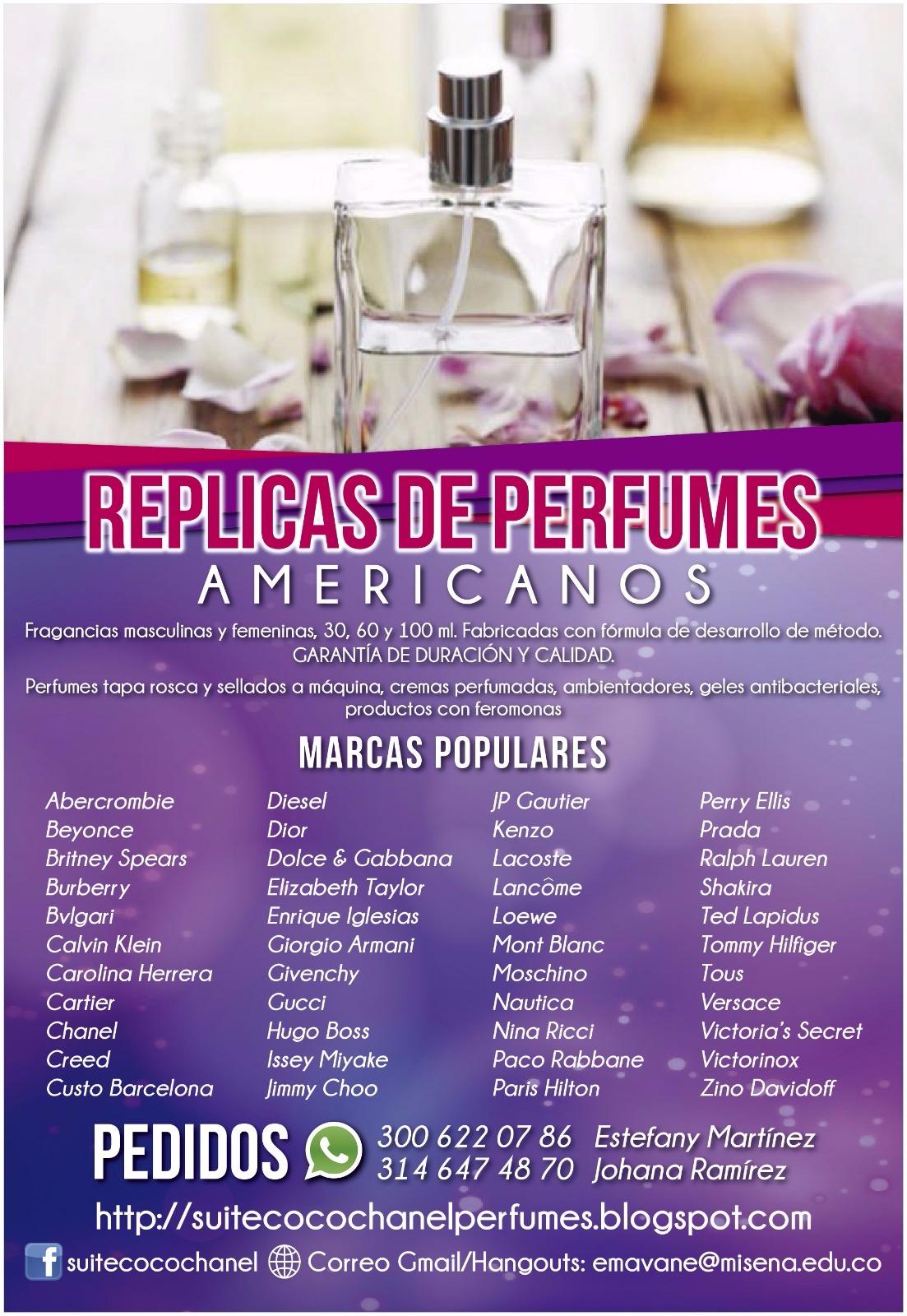 Perfumes Medellín Suite Koko Shanel Réplicas Perfumes
