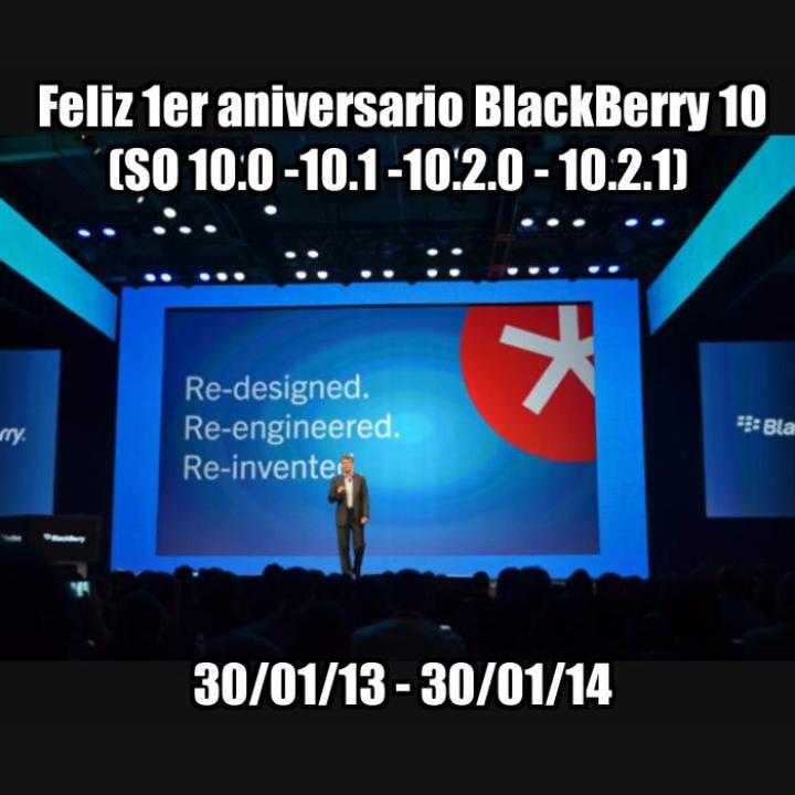 Hoy se conmemora el primer aniversario de el increíble lanzamiento de BlackBerry 10, el sistemaoperativo BlackBerry planeaba dominar el mercado de la informática móvil. Han pasado muchas cosas y ha cambiado desde entonces, muchos lectores han hablado y dicho que el OS 10.2.1 debería de ser el sistema operativo de lanzamiento ya que los usuarios están finalmente felices de que la brecha de aplicación se ha cerrado en su mayor parte con la capacidad de ejecutar aplicaciones de Android e instalar archivos APK directamente desde el dispositivo. BlackBerry a pasado por mucho en tan solo un año, se han incluido