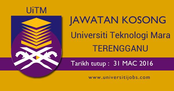 Jawatan Kosong Pensyarah Universiti Teknologi MARA UiTM Kampus Dungun