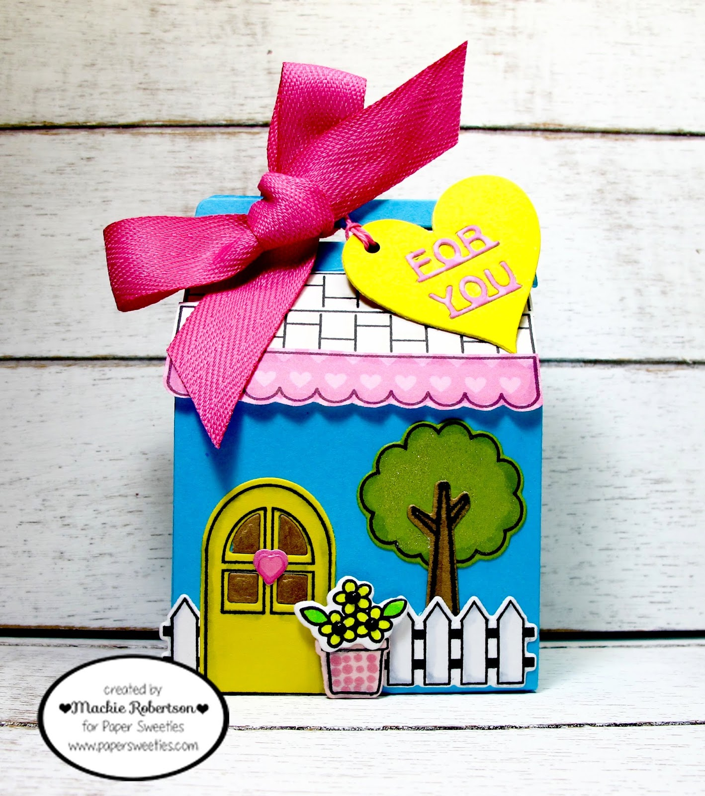 I Loved Decorating This Treat Box And Making This Adorable