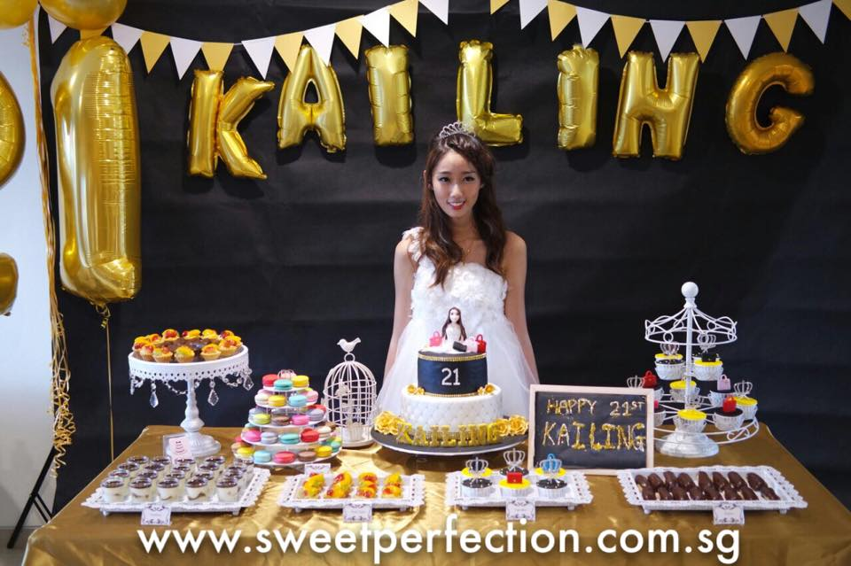 sweet perfection events kailing 21st birthday party