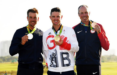 Justin Rose Wins Gold in Golf for Great Britain at 2016 Rio Olympic Games
