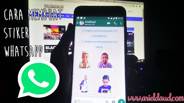 Cara Membuat Sticker Whatsapp Dengan Menggunakan Foto sendiri, Mudah Banget Lhoo!