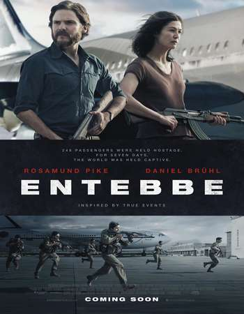 7 Days in Entebbe 2018 English 300MB Movie Web-DL 480p
