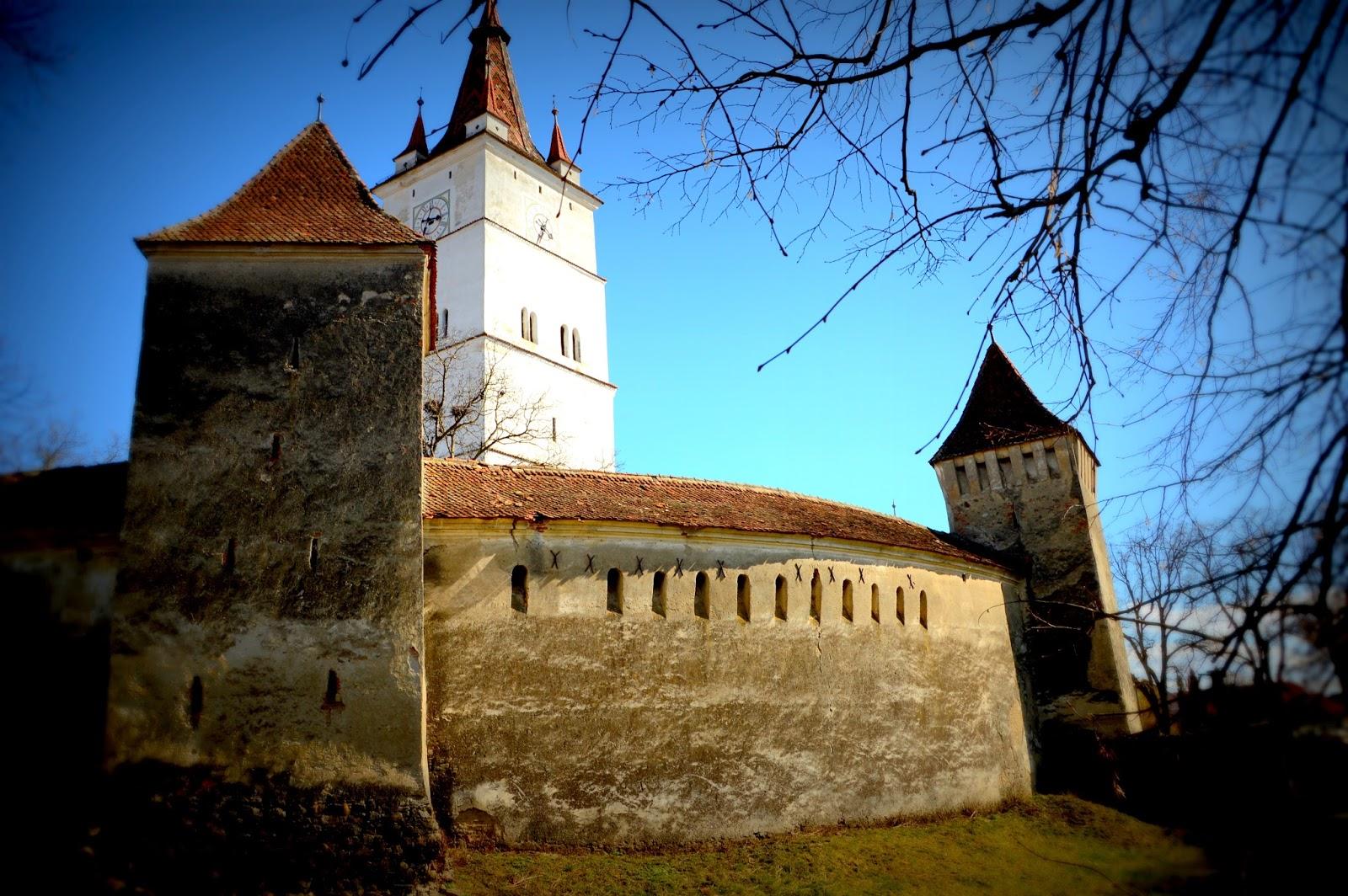 Iglesia fortificada Harman