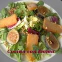 Hueva de maruca en ensalada