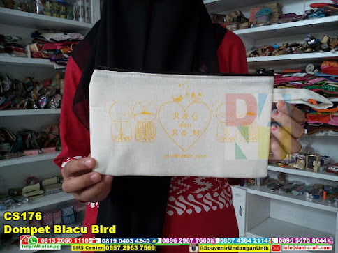 jual Dompet Blacu Bird