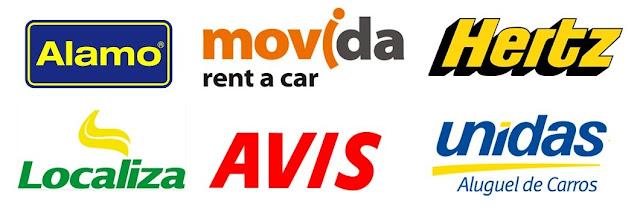 Principais locadoras de carros do Brasil