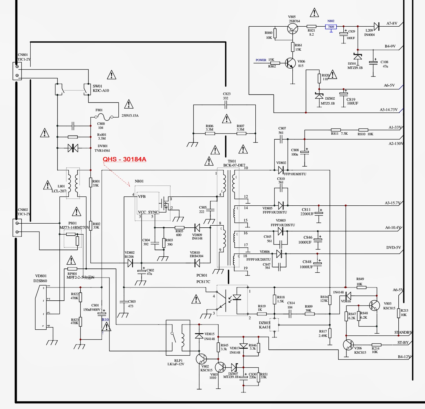 Toshiba Crt Tv Schematic Diagram, Toshiba, Free Engine