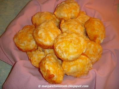Margaret's Morsels | Garlic Cheese Biscuits