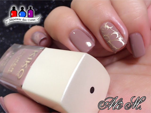 KIKO Nail Lacquer, Poker Nail Lacquer, Called Daring Game Collection, Prestigious Taupe, Essie, Good as Gold, Carimbado, Born Pretty, BP17, Edição limitada, Alê M.
