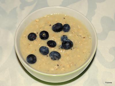 Havermout & fruit ontbijt