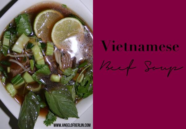 vietnamesische Rindersuppe