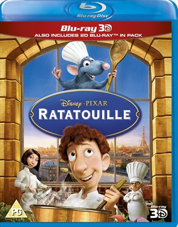 Ratatouille 2007 Dual Audio Hindi 720p BluRay 800mb
