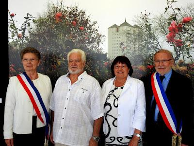 GRAND-QUEVILLY. Gérard et Françoise Cotelle ont renouvelé leurs vœux en célébrant leurs noces d'or en mairie.