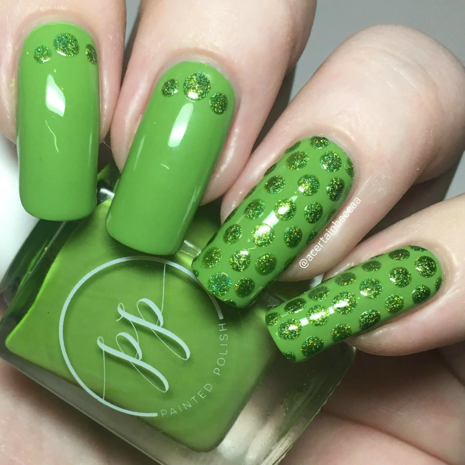 A Certain Becca Nails 26 Great Nail Art Ideas Green Freestyle