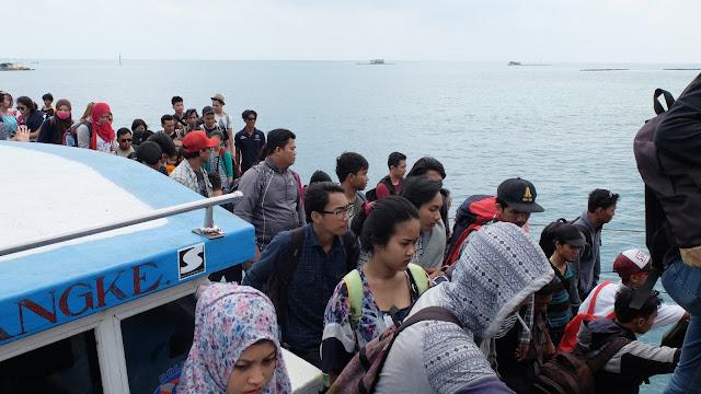 Pulau Harapan, kepulauan seribu -foto Very Barus