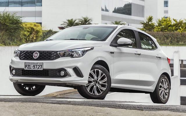 Fiat Argo - 4º carro mais vendido do Brasil em fevereiro de 2019