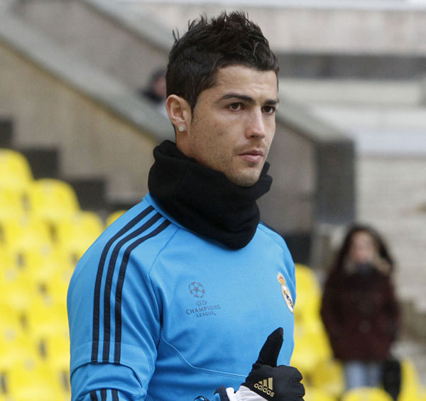 Cristiano Ronaldo Cristiano Ronaldo Hairstyle 2012