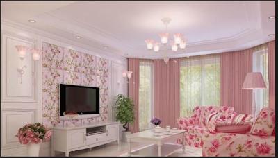 Desain Rumah Nuansa Pink Yang Cantik 3