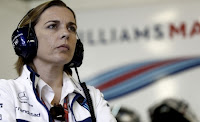 Claire Williams F1 Robert Kubica