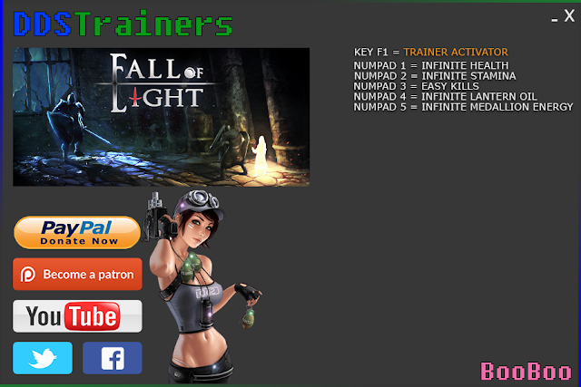 Fall Of Light Trainers and Cheats for PC