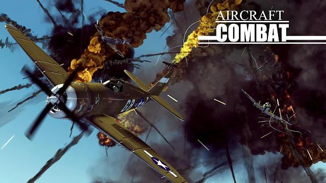 تحميل لعبة Aircraft Combat الطائرات المقاتلة مهكرة كاملة للاندرويد