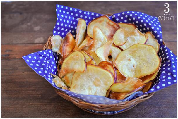 receita chips batata doce