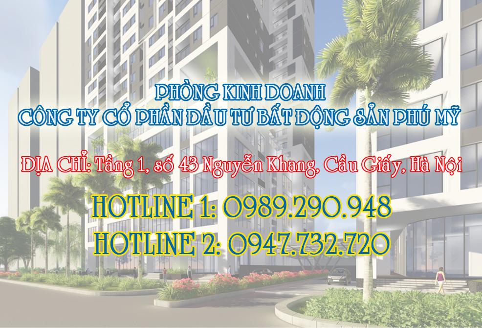 Thông tin mở bán chung cư Phú Mỹ Complex - N01T4 Ngoại Giao Đoàn