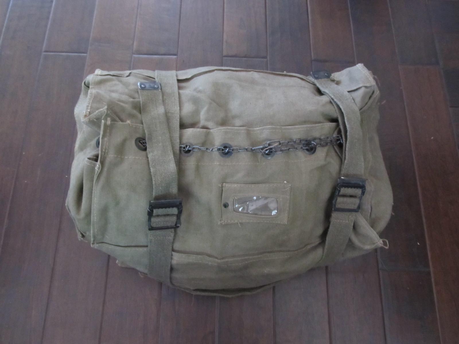 Webbingbabel  Italian Army Cotton canvas Kit Bag 60s 9d4a31d2d631d