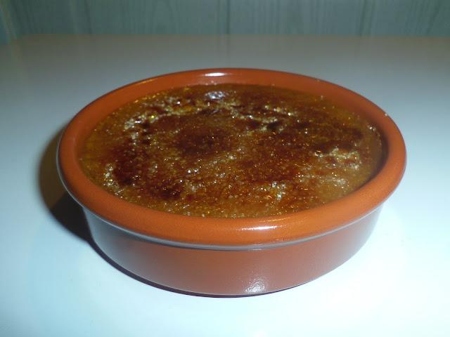 crème brûlée à la chicorée, dessert du nord
