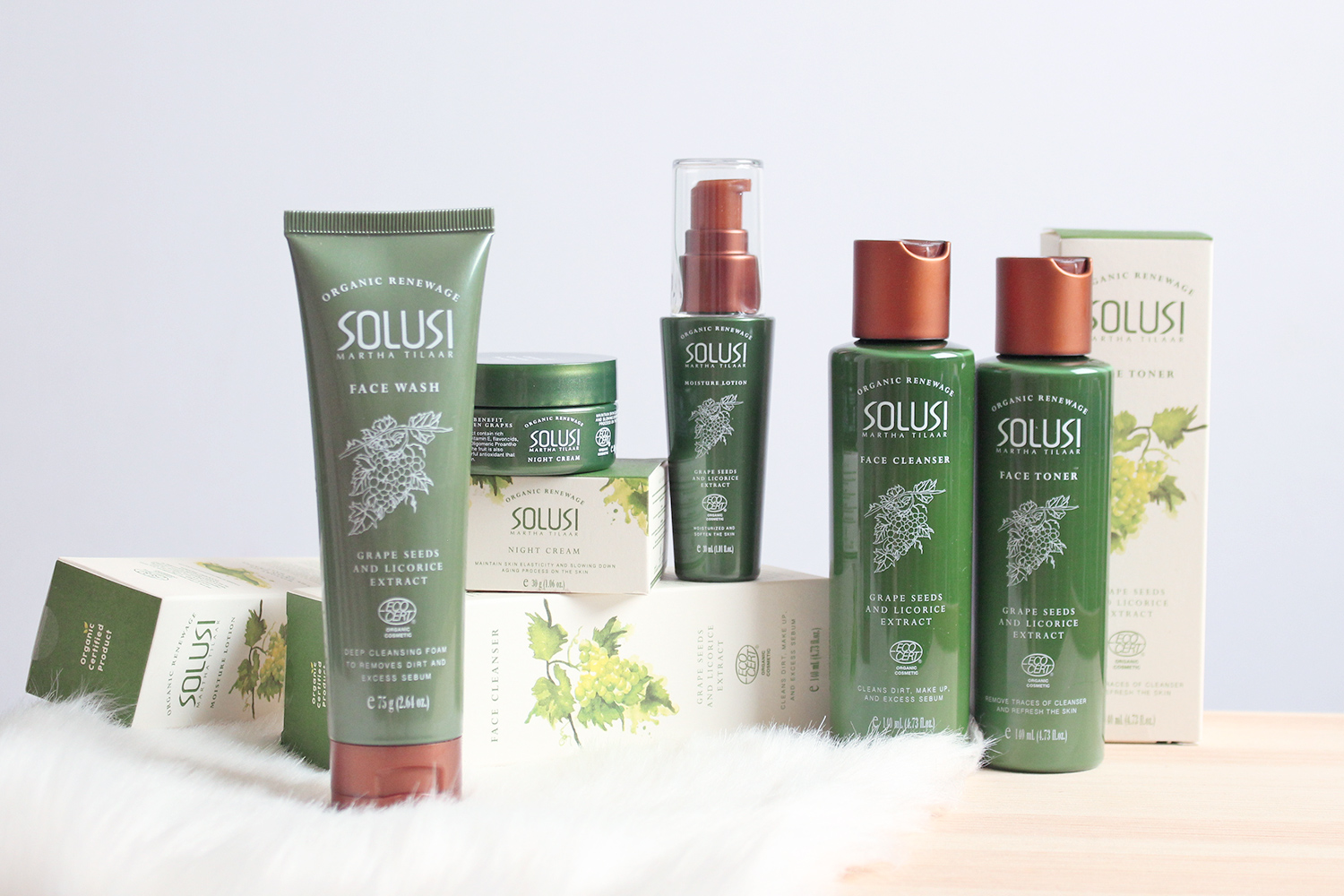 Local Organic Skincare : Solusi Organic Renewage Review | Milk Mochi
