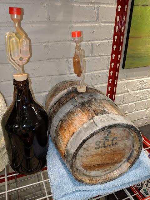 Barrel Aged Americanized Oud Bruin Batch 4 Recipe