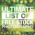 Ultimate List of Free Stock Photos