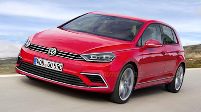 New 2017 Volkswagen Golf Eighth-Gen Hd Pictures 02
