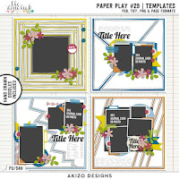 Template : Paper Play 29 by Akizo Designs
