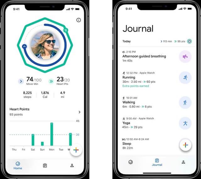 تطبيق Google Fit متوفر الأن على أجهزة iOS