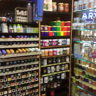 Art station, an art stationery shop at Andheri west for all your paints, brushes, imported art material