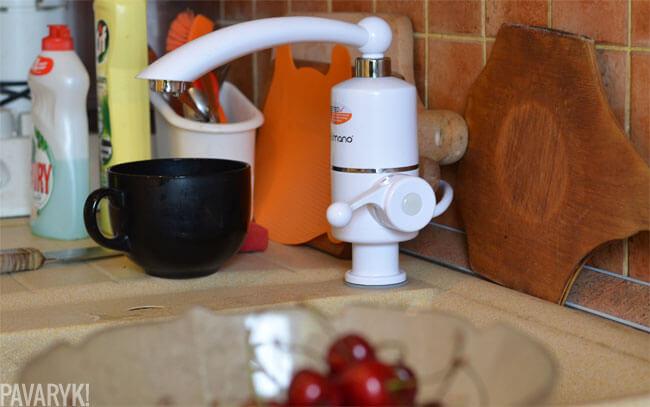 Delimano vandens šildytuvas